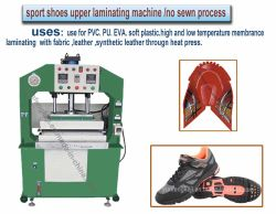 Sport Shoes Uppe Vamp Surface Making Machine No Sewn Process
