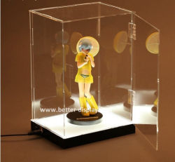 Custom Acrylic LED Toy Display Cabinet