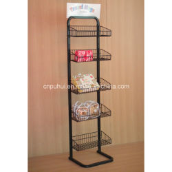 Floor Store Promotion Wire and Metal Display Stand (PHY375)