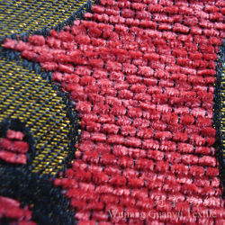 Yarn Dyed Polyester Chenille Fabric Jacquard for Sofa Covers