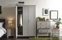 Lancaster Modern Home Bedroom Wood Wardrobe Furniture (HF-WF037)
