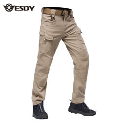 2718f1dad79f72 Outdoor Military Training Trousers Hiking IX7 Tactical Sports Cargo Pants