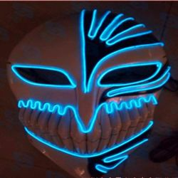 Sound Activated EL Wire Light up Mask