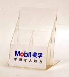 Customized Ad-162 Clear Acrylic Sign Menu Holder