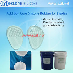 Healthy and Soft Shoe Insoles Silicone Rubber