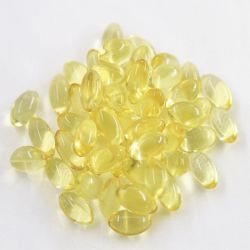 Dietary Supplement Omega 3 Softgel Capsules Plus Vitamin D3 to Support Brain and Heart Health
