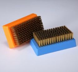 Wooden Handle Stainless Steel Wire Brush for Anilox Roller Cleaning