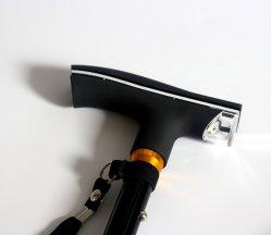 LED Foldable Walking Pivot Base Adjustable Cane for Old People (MW1057)