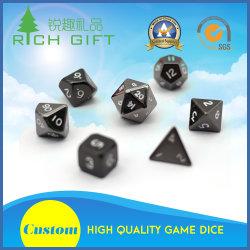 Manufacturers Wholesale Custom Metal Polyhedral Casino Dice Set/Bulk/Plastic/Laser Engraved/D20/12/10/8 Sided/Giant/Sex/Rpg/Loaded/Poker Dice for Adult Games
