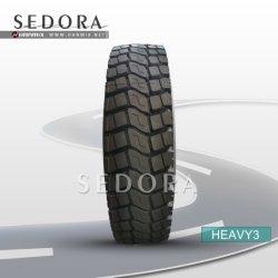 Hanmix All Steel Radial Heavy Duty Dump TBR Truck&Bus Tyres Heavy & Light Truck Tyre High Quality Sedora Brand 9r20 10r20 11r20 12r20 TBR Truck Tire