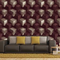 Modern Design PVC 3D Waterproof Wallpaper