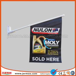 Shop Advertising Double Side Printing Outdoor Wall Vinyl Flag