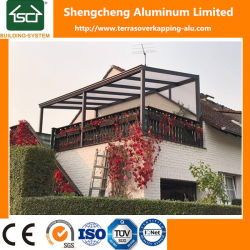 Outdoor Aluminium Patio Roof with Polycarbonate Panel