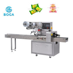 Wholesale Full Automatic Bread Cake Horizontal Food Packaging Machine