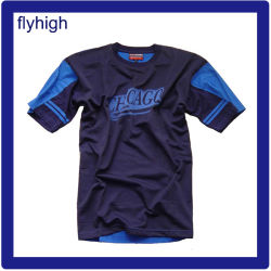 Short Sleeve Breathable Polyester Sports Football T Shirt Football Set