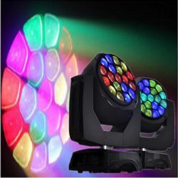 CE RoHS Moving Head 19*15W Wash LED