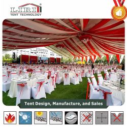 Luxury Marquee Party Wedding Tent with Decoration in Hot Sale