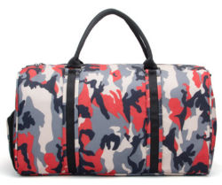 Camouflage Duffel Backpack Sports Gym Bag Waterproof Oxford Travel Bag