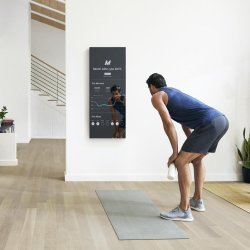 Fitness Smart Mirror with Touch Screen, Interactive Magic Glass Mirror Display for Exercise Workout/Sport/Gym/Yoga