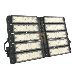Waterprooof IP65 High Power 500W Modular High Mast Flood Tunnel LED Light for Outdoor Stadium Tennis Sport Court Lighting 100W 150W 200W 300W 400W 500W 600W