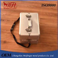 Multi Layer Single Shoulder Aluminum Alloy Cosmetic Case
