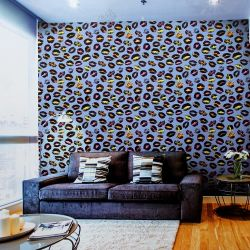 Wholesale Factory Cheap Price Modern Style 3D Design PVC Project / Home Colorful Wallpaper