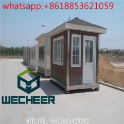 One Story Modular Sentry Box Shed/Kiosk/Booth