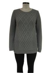 Ladies Cable Design Leisure Knitting Fashion