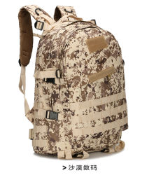 35L Molle Assault Pack Camouflage Military Army Travel Sports Backpack Bag