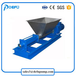 Sewage Sludge Paper Pulp Food Transfer Mono Screw Pump