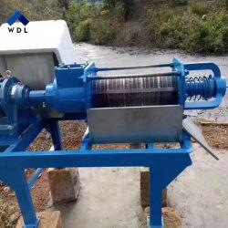 Cow Dung Solid-Liquid Separator, Biogas Slurry Dewatering Machine