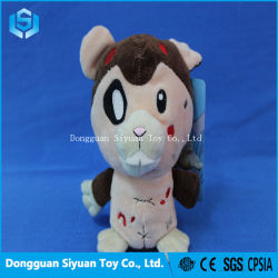 11212c7955b8 Customized Animal Embroidery Dog Stuffed Soft Toy for Promotion