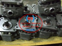 Factory~Parts Number: 07441-67503 for Bulldozer Machine Model: D65 HD460 Steering Pump for Komatsu Work Pumps Dump Trucks Gear Pump