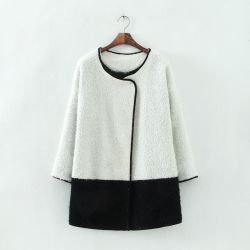 Factory OEM High Quality Korean Style Fashion Winter Ldies Jacket