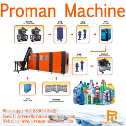 100ml-20L Pet Plastic Water Beverage Bottle Blow Molding Blower / Bottle Blowing Moulding Making Machine Price