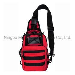 First Aid Sling Backpack Heavy Duty Sports Outdoor Rescue Pack Tactical Range Shoulder Bag