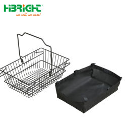 Small Wire Mesh Metal Hand Shopping Basket