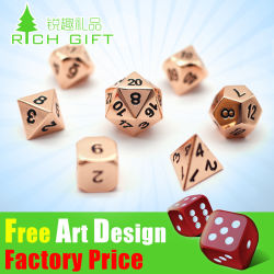 Cheap Wholesale Customized Polyhedral Casino Dice Sets/Bulk/Plastic/Laser Engraved/D20/12/10/8 Sided/Giant/Sex/Rpg/Loaded/Poker Metal Adult Game Dice