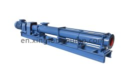 High Pressure Stainless Steel Single Screw Pump / Progressive Cavity Pump for Slurry and Oil /Mono Screw Pump