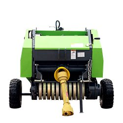 Tractor Mounted Ce Certificated Mini Round Rice Paddy Baler (0870) with Best Price High Quanlity