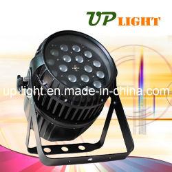 Waterproof 18PCS 10W RGBW Zoom LED PAR Lighting
