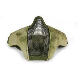 Tactical Half Face Steel Mesh Safety Mask Gas Painball Masks Cl9-0068