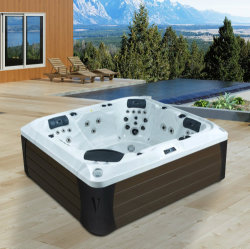 2017 New Design Power Whirlpool Outdoor Wholesale SPA Hot Tub (M-3388)