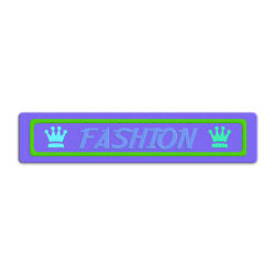 High Quality Brand Logo Embossed 2D Soft PVC Customized Micro Injection Jeans Rubber Trademark