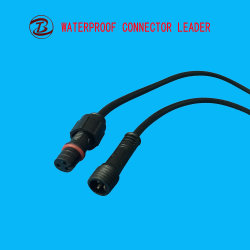 Water Resistance Electrical Mini Jack Plug 2 to 5 Pin