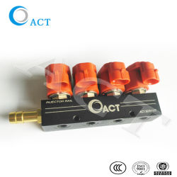 CNG LPG Car / Automobile 4 Cylinder Injector Rail