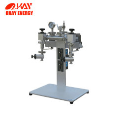 Double Workstation Rotary Quartz Tube Vacuum Sealing System for Laboratory