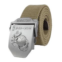 Wholesale Women Striped Waist Belt Mens Adjustable Outdoor Sports Woven Webbing Casual Fabric Canvas Golf Belts