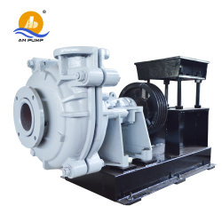 Hot Sale Metal Impeller with Rubber Lined Slurry Pump