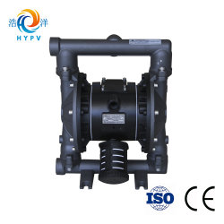 "2018 Hot Aodd Shanghai Haoyang Slurry Pneumatic Pump Water Mud Aluminum Pump Air Double Diaphragm 1"" Pump"